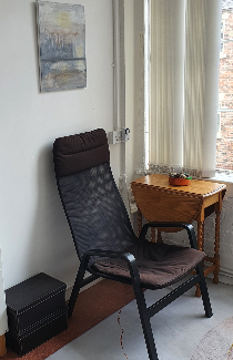Image of therapy room in Arrad Street.