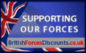 Logo for British forces staff discounts